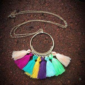 Trendy Boho Tassel Necklace